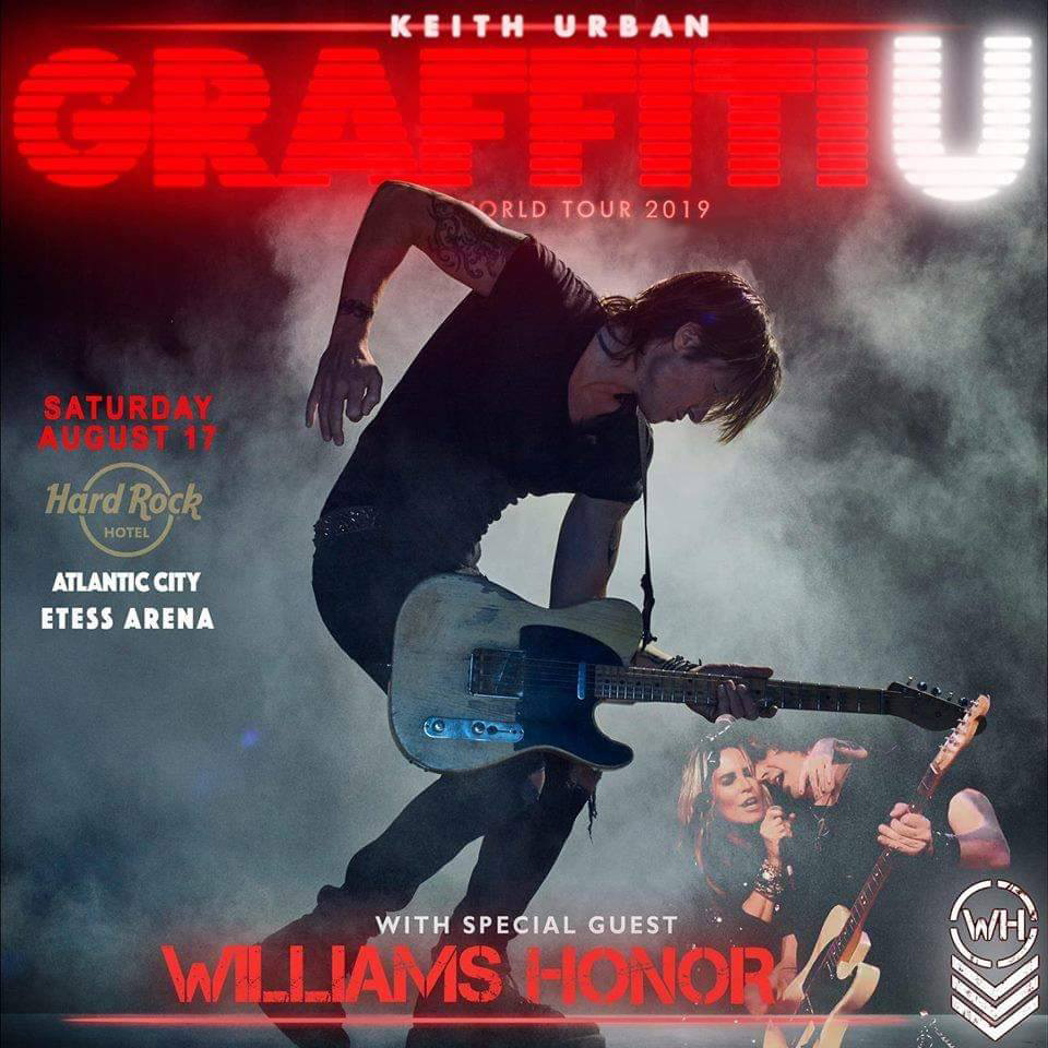 Williams Honor with Keith Urban